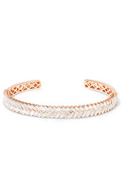 Anita Ko 18-karat rose gold diamond cuff
