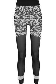 Adidas by Stella McCartney Run Tight printed Climalite stretch-jersey leggings