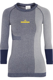 Adidas by Stella McCartney Climalite stretch-jersey top