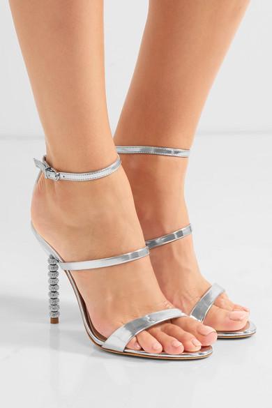 Rosalind metallic leather sandals Sophia Webster siWOPvF
