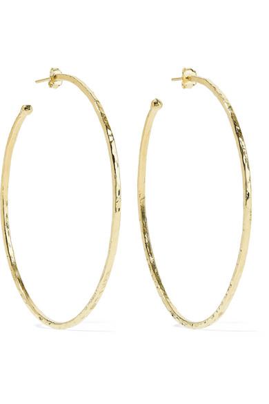 18-karat Gold Hoop Earrings - one size Jennifer Meyer ltg4q42p