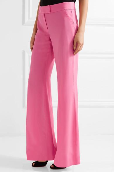 Rachel Zoe | Presley silk crepe de chine wide-leg pants | NET-A ...