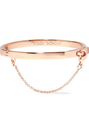 Safety Chain rose gold-plated bracelet
