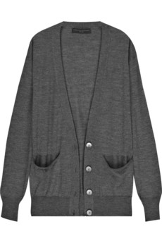 Stella McCartney Cashmere and silk-blend cardigan