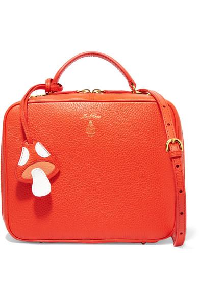 Mark Cross - Laura Textured-leather Shoulder Bag