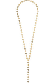 Dot And Stripe gold-plated necklace