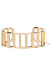 Gold-plated cuff