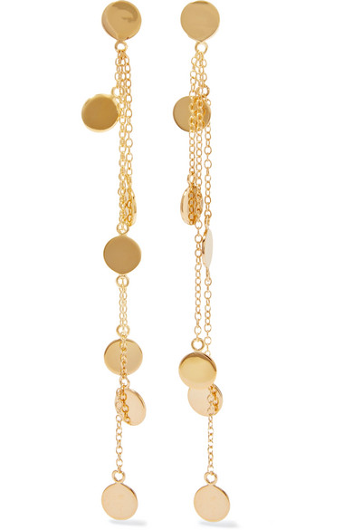 Arme De L'Amour - Gold-plated Earrings