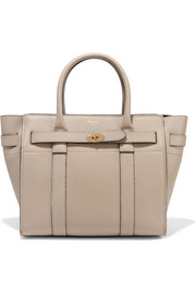 Mulberry The Bayswater Zipped small textured-leather tote