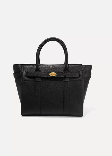 Mulberry Bayswater Zipped Black