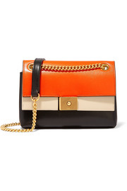 Mulberry Cheyne mini paneled leather shoulder bag
