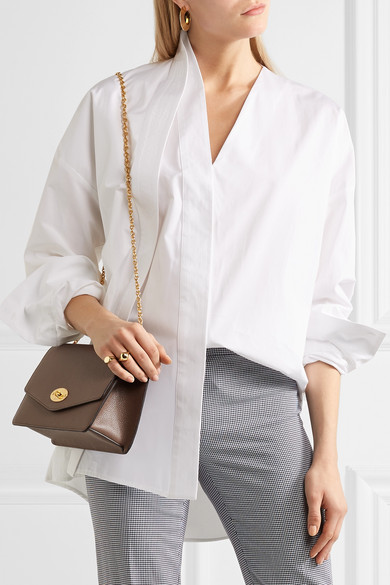 Mulberry. Darley textured-leather shoulder bag.  1 0f1928d43a239