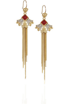 Juicy Couture Modern Nostalgia drop earrings