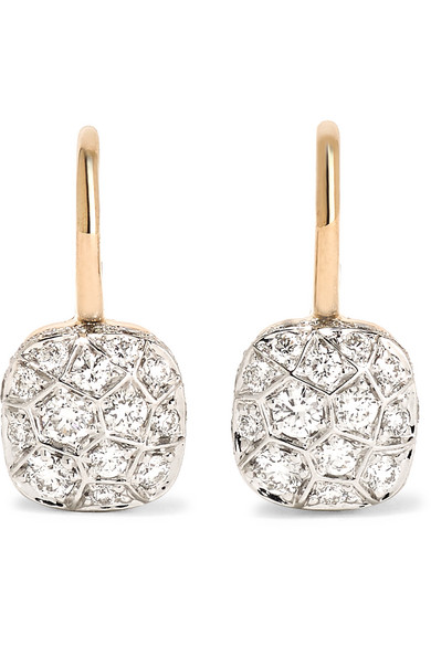 Pomellato - Nudo 18-karat Rose Gold Diamond Earrings - one size