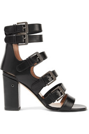 Dana buckled leather sandals