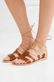 Ancient Greek Sandals Polyxeni lace-up leather sandals