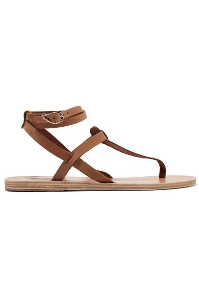Ancient Greek Sandals - Estia Leather Sandals - Tan