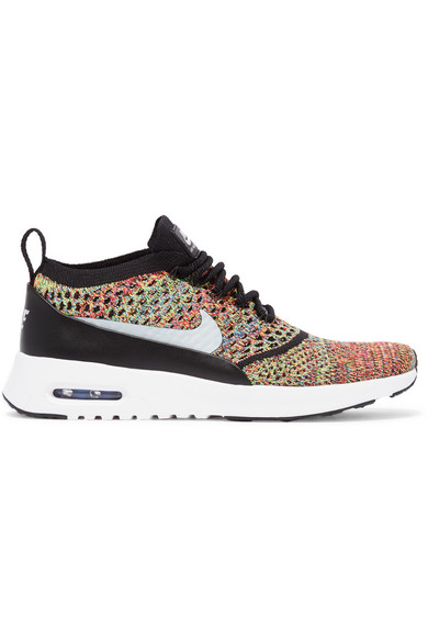 nike air max thea flyknit multicolor