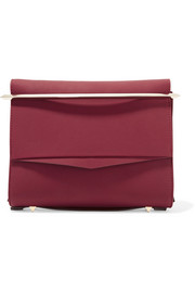 Boyd small matte-leather clutch