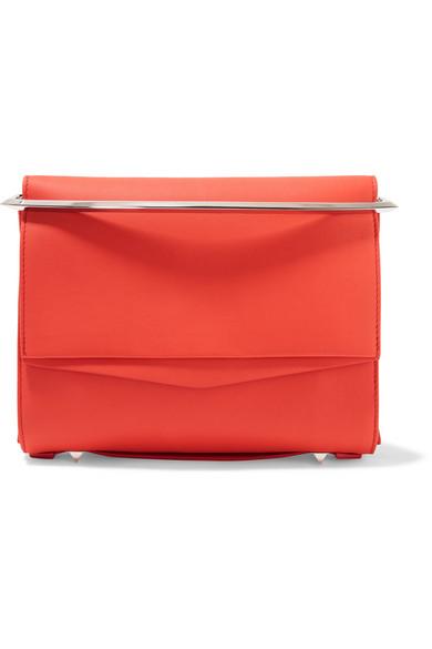Eddie Borgo - Boyd Small Leather Clutch - Red