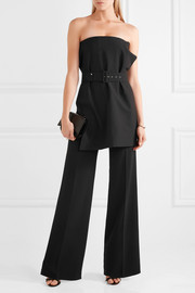 Axon stretch-crepe wide-leg pants