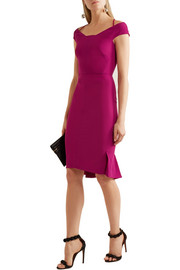 Roland Mouret Beatrix cutout stretch-crepe dress