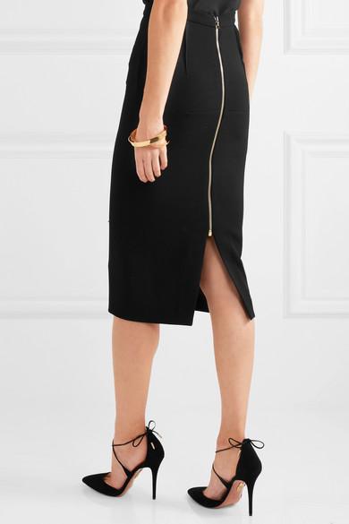 roland mouret arreton wool crepe pencil skirt net a