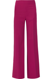 Roland Mouret Axon stretch-crepe wide-leg pants
