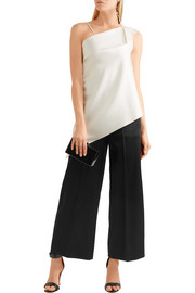 Roland Mouret Ward satin wide-leg pants