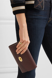 Mulberry Darley textured-leather wallet