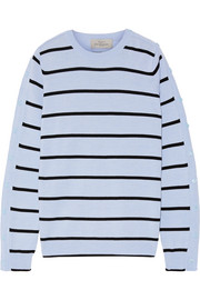 Ada striped wool-blend sweater
