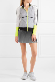 Monreal London Plissé jersey tennis skirt