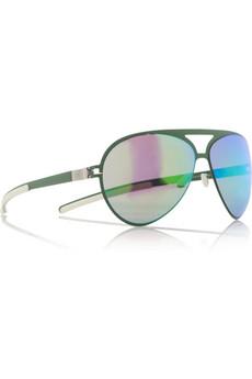 Mykita|Aviator metal sunglasses |NET-A-PORTER.COM from net-a-porter.com