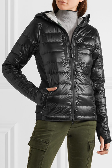 bd1f3a294c7 Hybridge Lite hooded quilted shell down jacket
