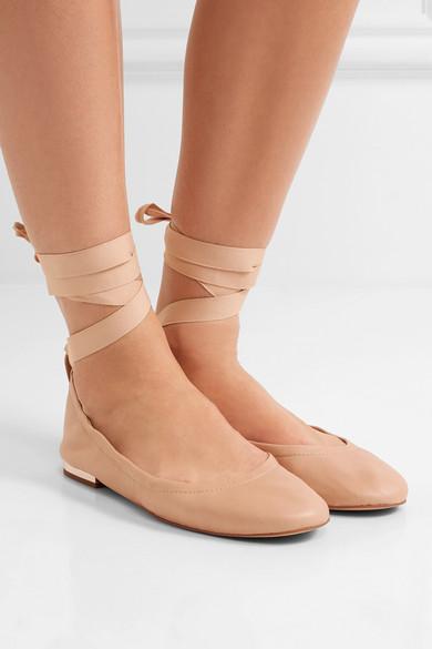 SAM EDELMAN Fallon Lace Up Ballet Flats