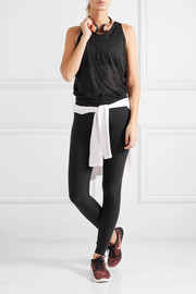 Layered cutout Dri-FIT stretch-jersey tank