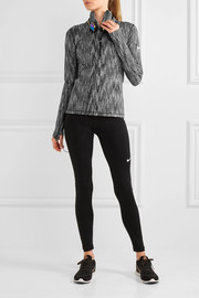 Hyperwarm stretch-knit top