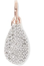 Monica Vinader Stellar rose gold vermeil diamond pendant
