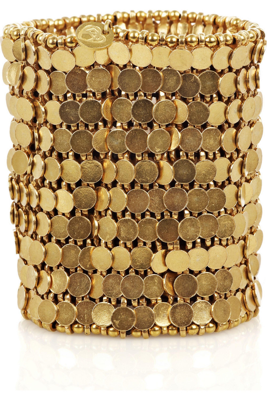Philippe Audibert Gold-plated cuff