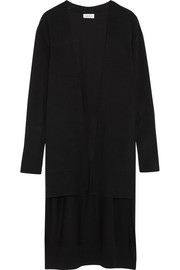 DKNY Step-hem stretch-knit cardigan