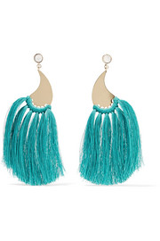 Etro Gold-tone tassel earrings