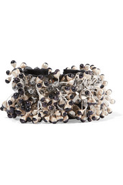 Etro Satin, bead and crystal bracelet