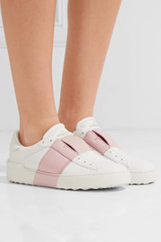 Valentino Leather slip-on sneakers