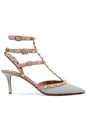 Valentino Rockstud patent-leather pumps