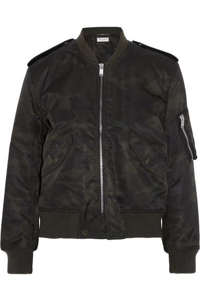 Jacket Saint Print Shell Bomber Camouflage Laurent arw0X