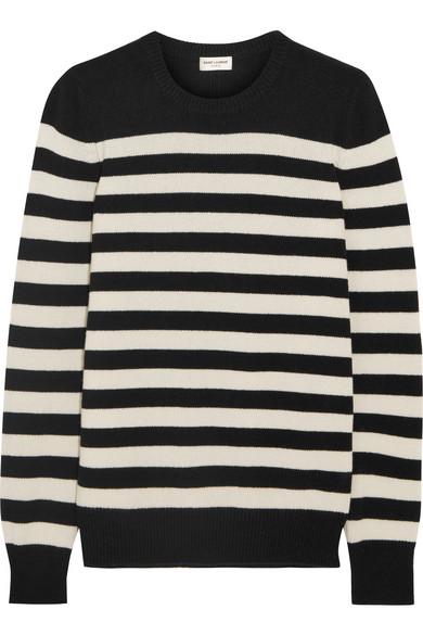Saint Laurent. Striped cashmere sweater bd6fd818f