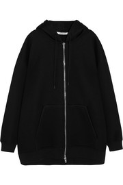 Givenchy Oversized printed neoprene hooded top
