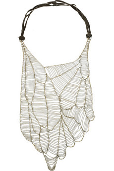 Antik Batik | Anka beaded suede necklace | NET-A-PORTER.COM from net-a-porter.com