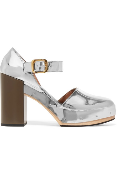 buy cheap latest collections finishline for sale Marni Leather Platform Pumps shopping online cheap online enjoy cheap price wbmaNf6IgQ
