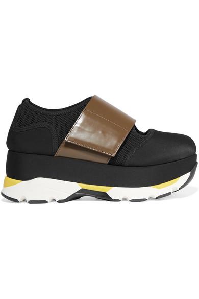 Neoprene Sneakers - IT40 / Green Marni DuY2h0EQz